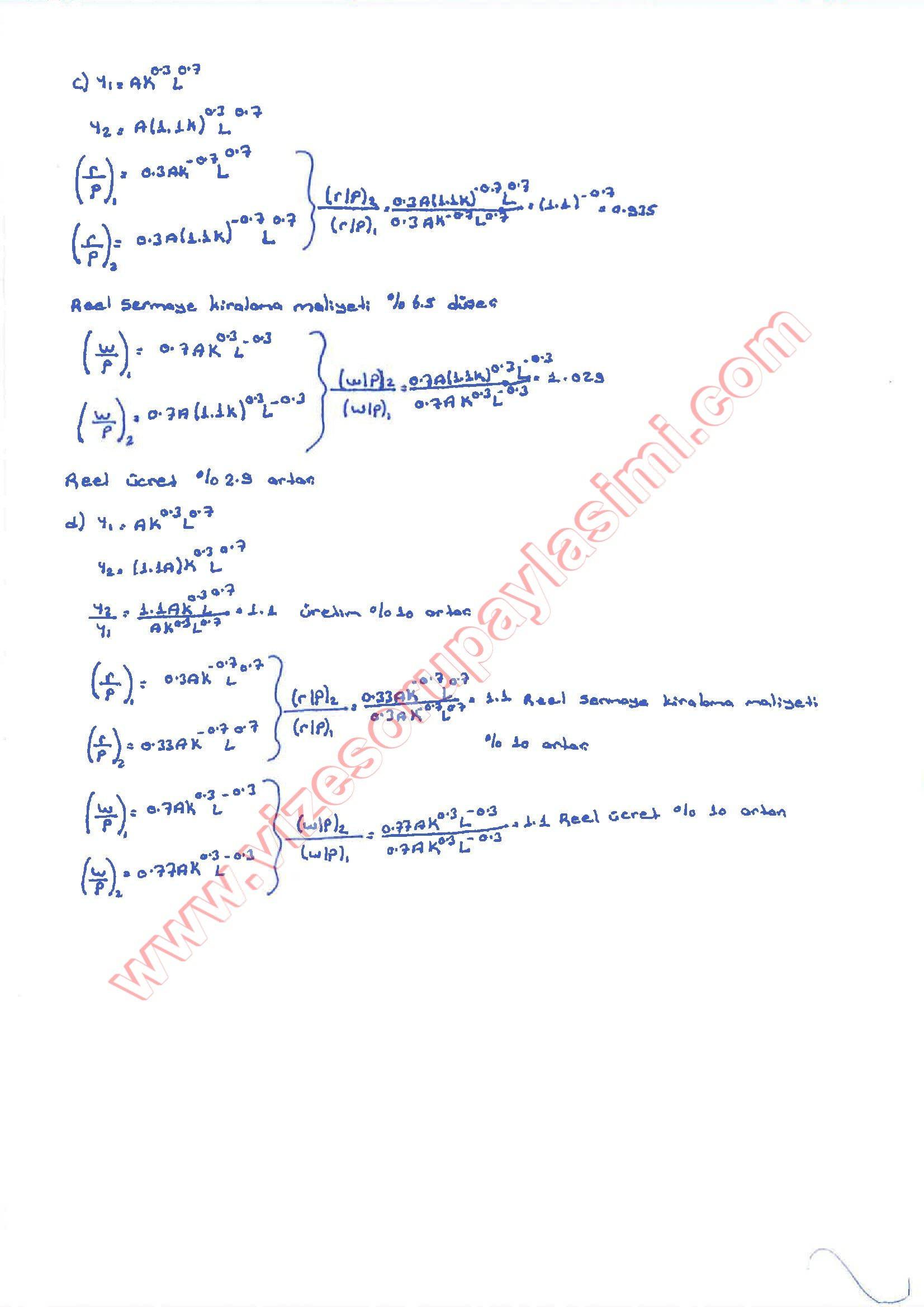Makro Iktisat Vize Soruları Ve Cevapları Sayfa 2 Vize Ve Final