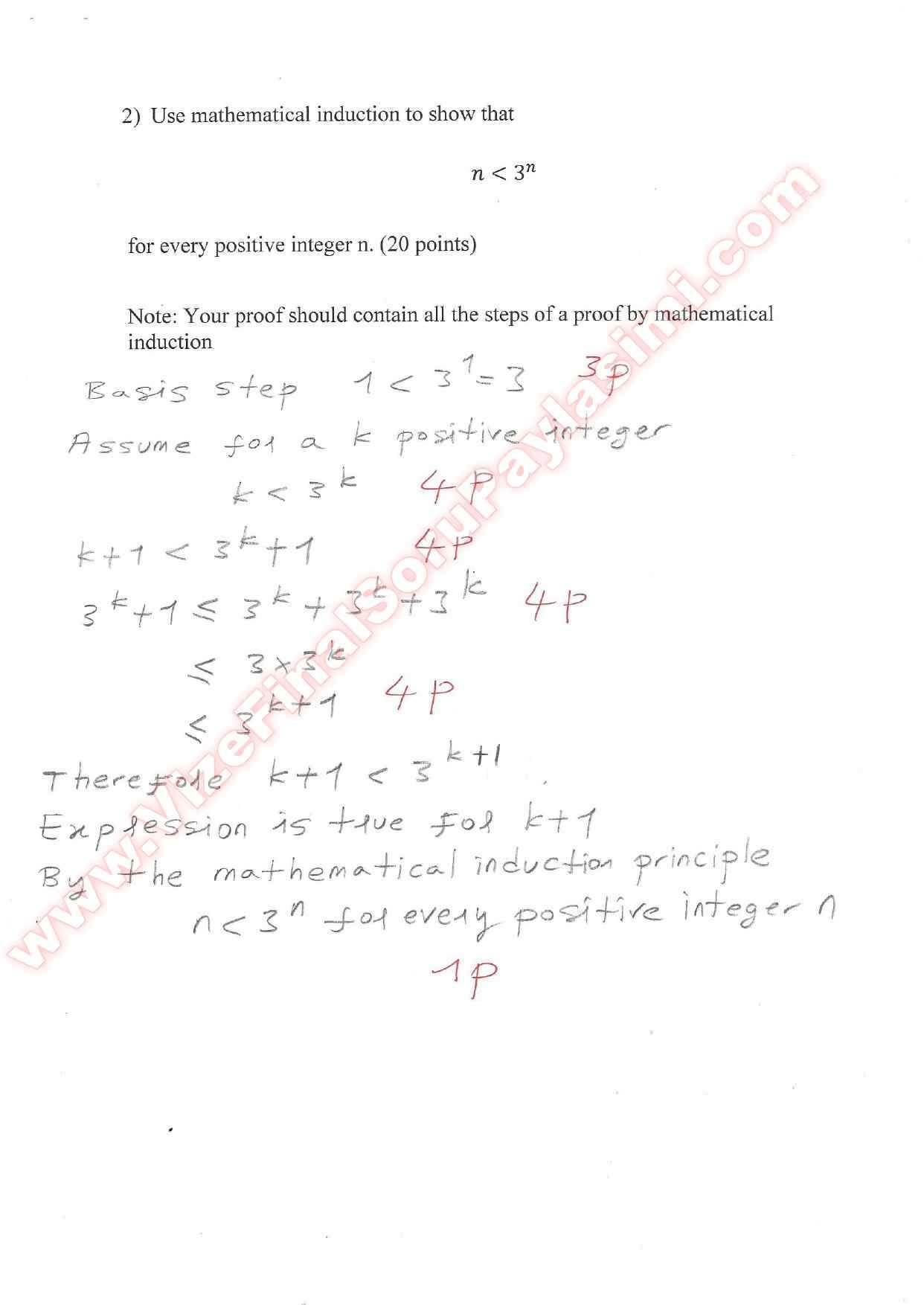 """discrete math quiz essay example This set of discrete mathematics multiple choice questions & answers (mcqs)  focuses on """"sets"""" 1 a ______ is an ordered collection of."""