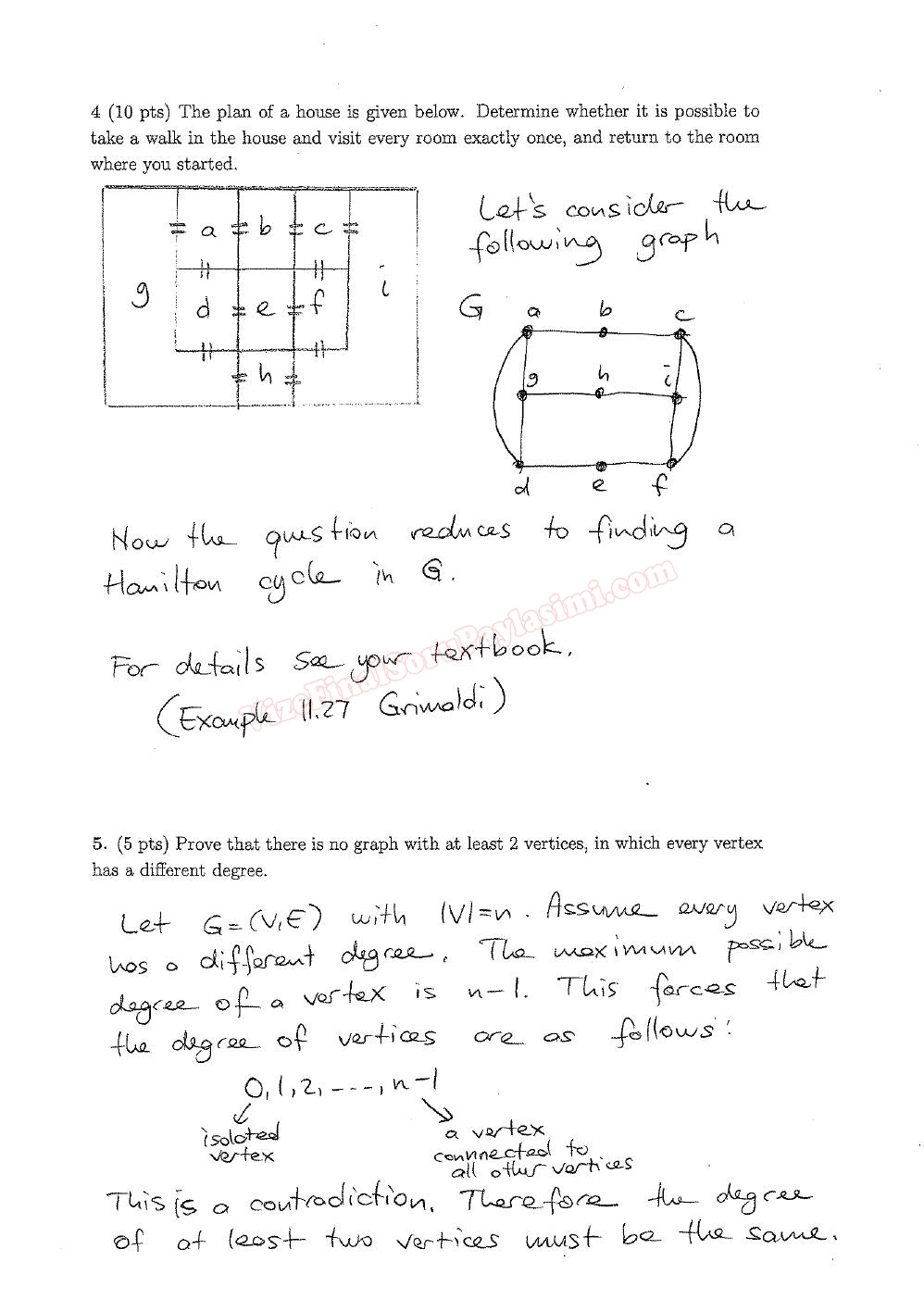 discrete math worksheets