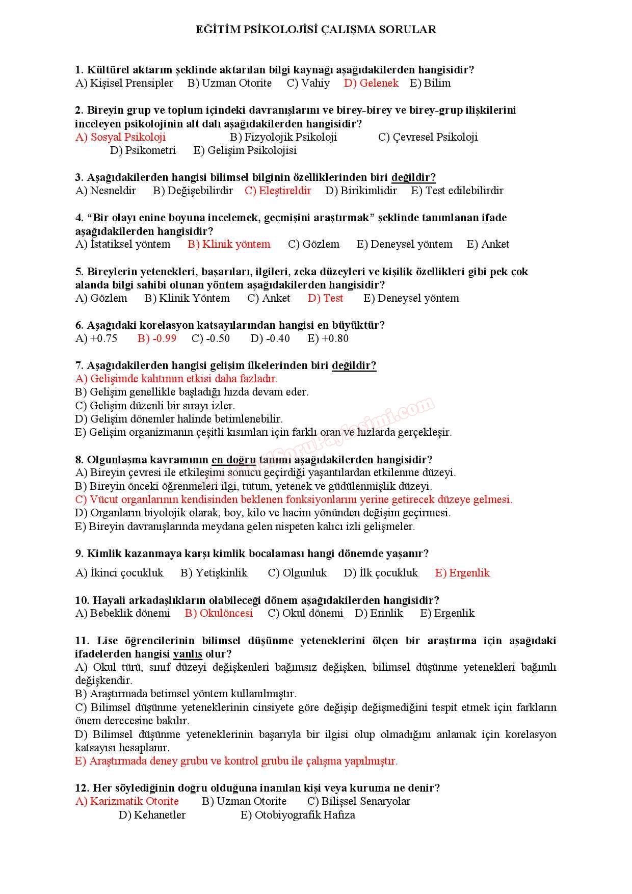 Okul öncesi döneminin psikolojik ve pedagojik özellikleri: içerik ve örnek