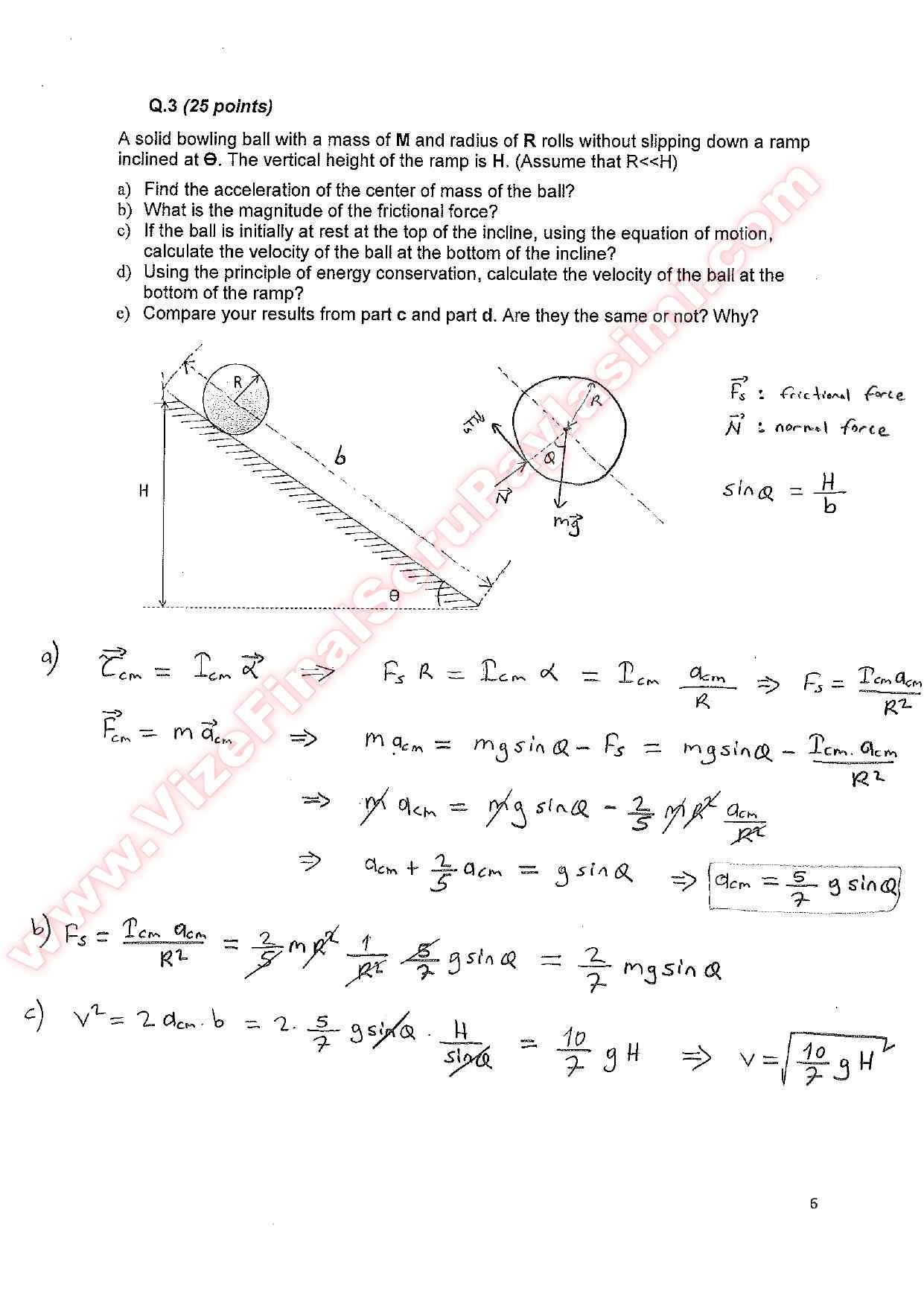 section 1 general physics Columbia university department of physics qualifying examination monday, january 9, 2017 11:00am to 1:00pm classical physics section 1 classical mechanics.