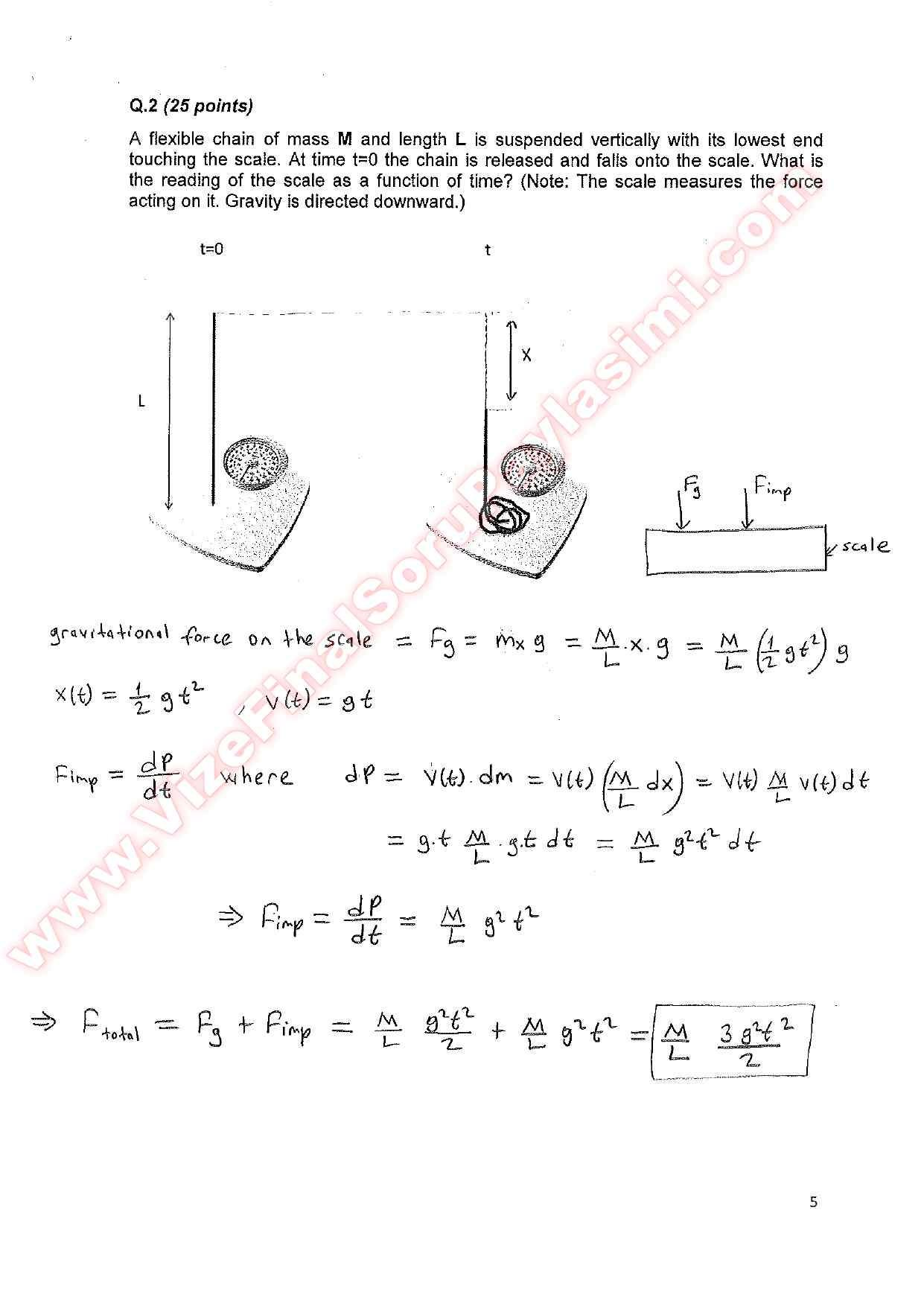 final exam 2011 solutions final 2 Math 111, introduction to the calculus, fall 2011 final exam solutions 1 (5 points each) calculate each of the following limits you should say if the limit is.