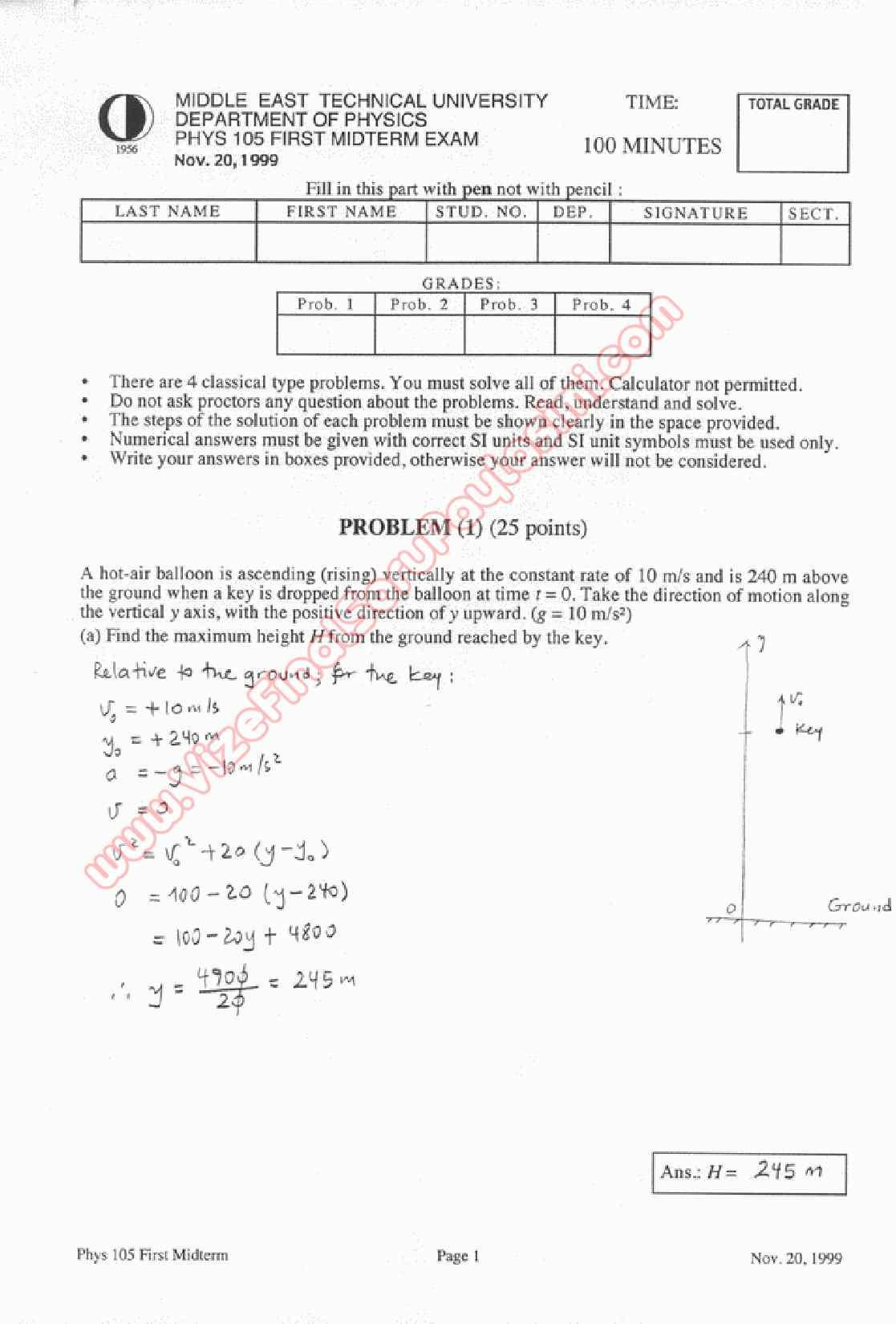 physics questions and solutions pdf