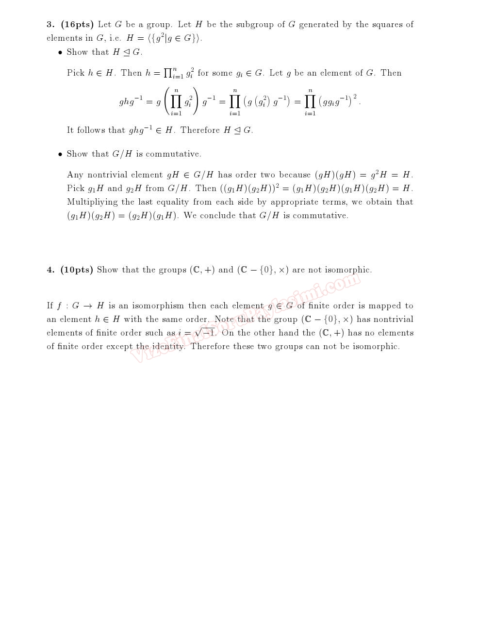 abstract algebra Abstract algebra is very different than the algebra most people study in high school this math subject focuses on abstract structures with names like groups.