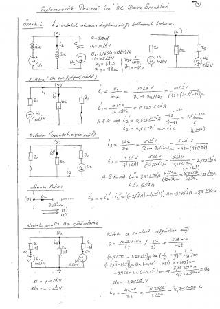 Toplamsallık Teoremi İle 'AC' Devre Örnek Soru Çözümü