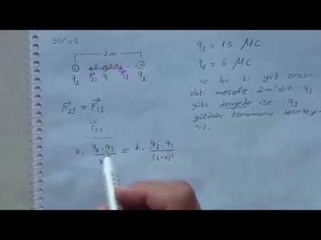 Fizik 2 Vize Soruları ve Çözümleri - Yaz Okulu - 2017