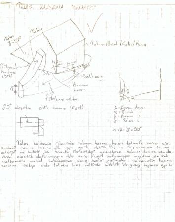 Talaş Kaldırma Mekaniği